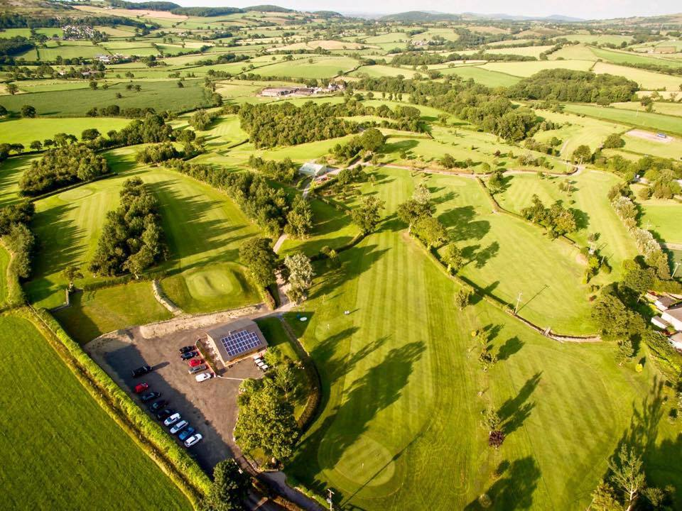 Silver Birch Golf Club Ariel View 2017